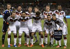 Deutschland gegen England. Das wird sicher ein super Spiel