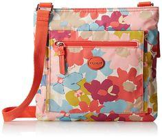 Coach Getaway Flower Print File Cross Body Bag Purse NWT Sateen Multicolor F 30021