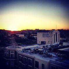 A west coast sunrise.
