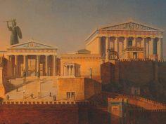 Painting by German architect Leo Von Klenze, 1846