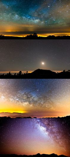 The Milky Way from El Teide in Spain's Canary Islands