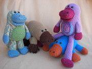 Paulie and Percy Platypus Crochet Amigurumi Pattern-$4.50    http://www.craftydeb.com/view/125