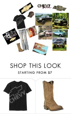 """Im a chevy girl ♥♥♥"" by countrygirl94 ❤ liked on Polyvore featuring Free People and John Deere"