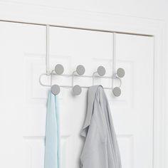 Umbra Yook Wall Hook - White/Grey - over door hanger