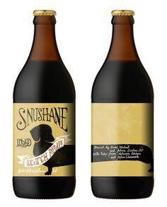 Snushane | Beer label on Behance