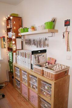 craft supplies organization, my dream craft room Craft Room Storage, Craft Organization, Craft Rooms, Organizing, Space Crafts, Home Crafts, Craft Space, Craft Room Design, Ideas Para Organizar