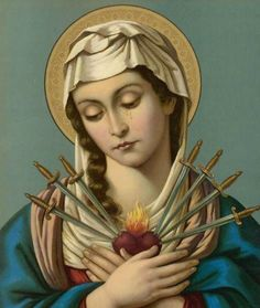 Feast of The Seven Sorrows of Our Lady September 15, is the Feast Day of our Lady of Sorrows. This day is to commemorate the sorrows that our Blessed Mother experienced during her life. It is traditionally taught that there are seven sorrows of Mary, pictured by the seven swords piercing her heart.