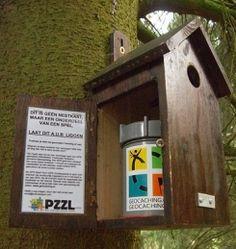 Bird House Geocache