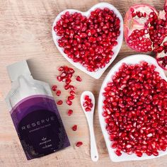 The delicious taste of pomegranate is just one more reason to love Reserve! Heart Health Month, Anti Oxidant Foods, Grenade, Regular Exercise, Live Long, Transformation Body, Fun To Be One, Pomegranate, Healthy Life