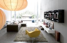 Young and Modern Interior Design of an Urban Apartment – My Life in 80m2 by Poliform   DigsDigs