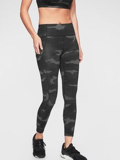 0bb2205bb5081 Camo Contender 7/8 Tight in Powerlift | Athleta $89 Camo Leggings Outfit,  Workout