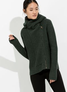 Women's Knit Cashmere Wrap | Keton Wrap  Tried it on in store in black and love the fit. Going to purchase in green (didn't have my size in green in store)