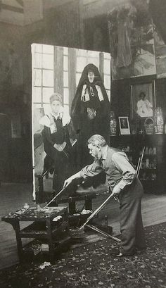 Spanish Painter: Joachin Sorolla...at work