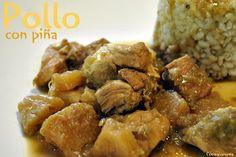Cocina Varoma: Pollo con piña