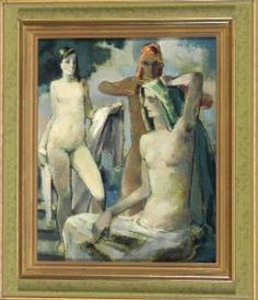 Georg Paul Heyduck - Drei Frauen Nach Dem Bade.