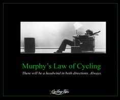 Murphy's Law Of Cycling