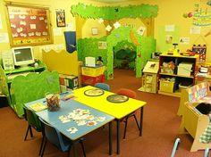 Cute preschool classroom!