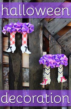 Halloween Decoration DIY Witch's Legs - Dekoracja Nogi Wiedźmy - Ozdoba na Halloween 181 Witch Legs, Crafts For Kids, Diy Crafts, Diy Halloween Decorations, Cool Watches, Diy Tutorial, Have Fun, Inspired, Creative