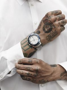 men hand tattoos