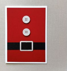 This is a card-- but I could do this with my red door for Christmas!!