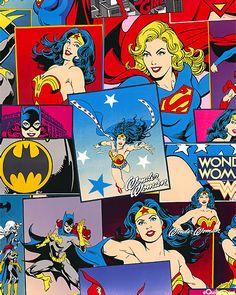 Wonder Woman - Action Heroines - Bright