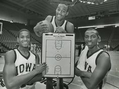 B.J. Armstrong, Bill Jones, and Roy Marble.