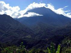 Mt. Kinabalu in Borneo.