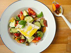 Recept van de maand: Frisse tomaten salade
