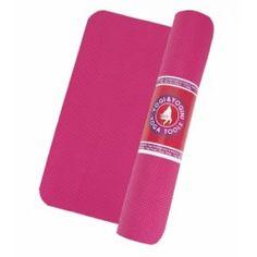 Yogi & Yogini yogamat roze - cm - 1250 g - Patipada Hot Yoga, Weights