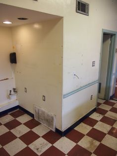 Interior - Much neglected and ready to become a warm, clean, friendly environment for the neighborhood.