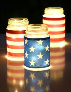 American Flag Mason Jar Luminaries – Memorial Day Crafts with Mason Jars. You know I like an easy mason jar craft project … and this adorable stars and stripes mason jar luminaries is as easy as peasy. No, I have no idea what that sentence means. I'm actually pretty anti-peasy-use. But sometimes I like to …