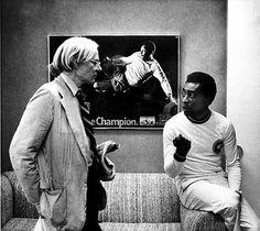 Warhol with Pele