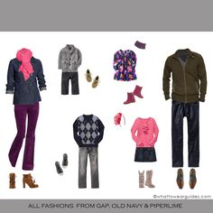 Family Photo What to Wear | What to Wear in Winter??Wilmette Family Photographer » Diane Hamilton ...