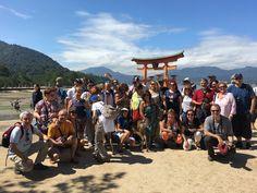 #PERIPLOS en #Japón Octubre 2016  El grupo en Miyajima