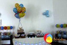 Mesa principal  Créditos: Balões e filme: Balão Cultura  Gostou? Contate-nos: www.balaocultura.com.br Telefones: 11 50816916 ou 39049892  #arranjodemesa #decoraçãodeovelhinha #decoraçãodeovelha #decoraçãodeovelhanobalao #balaodecoracao #qualatex #decoraçãodiferente #decoraçãocriativa #encontraideias #mamaefesteira #balaocultura