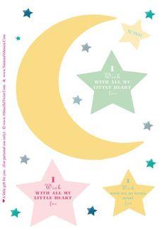 wish upon a star #printable mobile