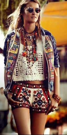 Beaded Boho Apparel Wear 2015 For Women