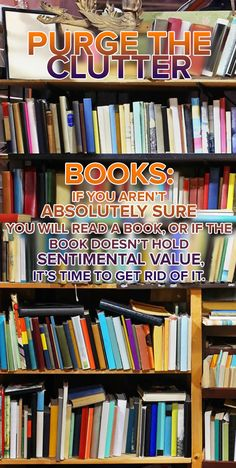 Don't let your bookshelves become a mess. Follow this quick tip to help you get organized.