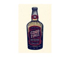 GOOD TIMES & BAD DECISIONS on Behance