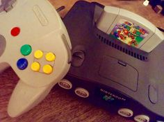 Nintendo 64. Old School. Last cartridge based console from Nintendo.