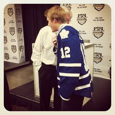 Brian Burke and Morgan Rielly