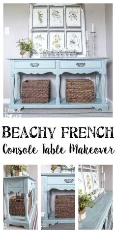 Beachy French Consol