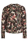 Givenchy | Roses print boiled wool-blend jacket | NET-A-PORTER.COM