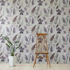Winter Flourish Wallpaper