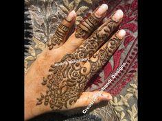 YouTube #khaleeji #henna #mehndi #design