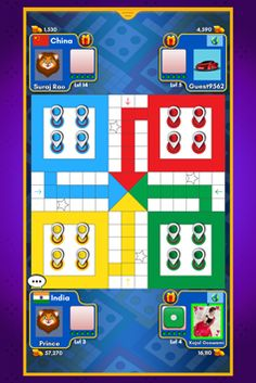 Ludo King™ - Play the Most Popular Board Game Free Mobile Games, Free Games, King App, Mod App, Most Popular Boards, Kings Game, Phone Games, Game Ui, Google Play