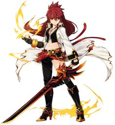 Blazing Heart from Elsword
