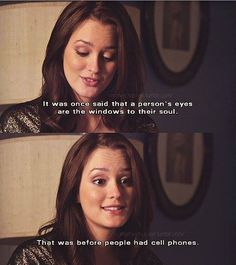 You have GOT TO love Blair Waldorf