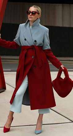 Plus Size Fashion, High Fashion, Haute Couture Fashion, Colorful Fashion, Pull, Autumn Winter Fashion, Color Combinations, Winter Outfits, Street Style
