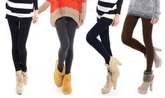 Groupon - Pack 5 leggings termici disponibili in 2 taglie a 12,90 € (57% di sconto). Prezzo deal Groupon: €12,90